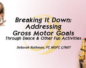 Addressing Gross Motor Goals banner
